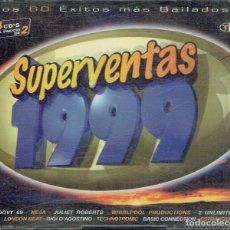 CDs de Música: SUPERVENTAS 1999 CDS 1,2 Y 4. Lote 114629387