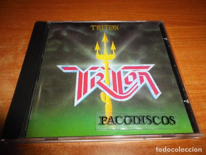 TRITON CD ALBUM AÑO 2002 ESPAÑA CONTIENE 8 TEMAS J. LUIS ARAGON ENRIQUE CASTAÑEDA JAVIER MIRA HEAVY (Música - CD's Heavy Metal)