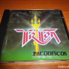 CDs de Música: TRITON CD ALBUM AÑO 2002 ESPAÑA CONTIENE 8 TEMAS J. LUIS ARAGON ENRIQUE CASTAÑEDA JAVIER MIRA HEAVY. Lote 114638515