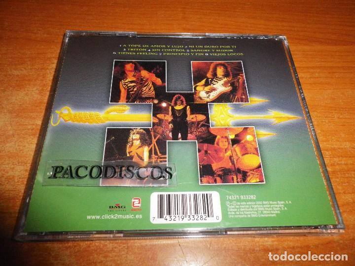 CDs de Música: TRITON CD ALBUM AÑO 2002 ESPAÑA CONTIENE 8 TEMAS J. LUIS ARAGON ENRIQUE CASTAÑEDA JAVIER MIRA HEAVY - Foto 2 - 114638515
