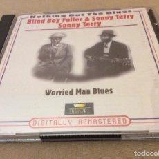 CDs de Música: BLIND BOY FULLER / SONNY TERRY – WORRIED MAN BLUES. 2CD.. Lote 114665263