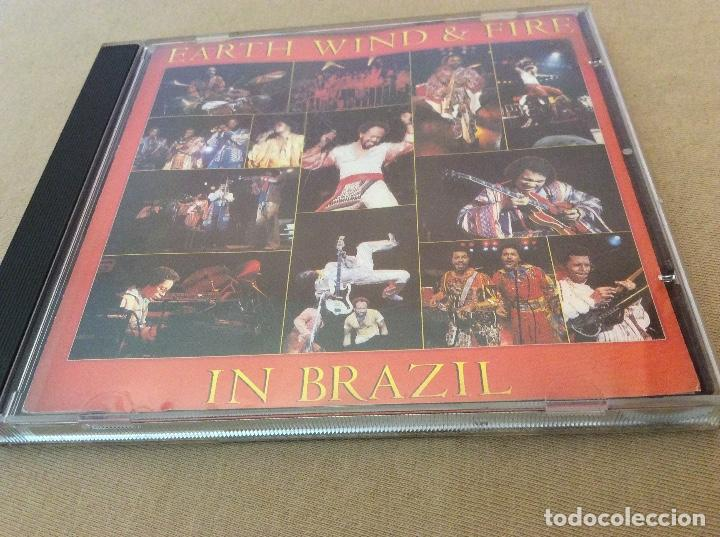 EARTH, WIND & FIRE ‎– EARTH, WIND & FIRE IN BRAZIL. (Música - CD's Jazz, Blues, Soul y Gospel)