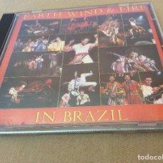 CDs de Música: EARTH, WIND & FIRE – EARTH, WIND & FIRE IN BRAZIL.. Lote 114691899