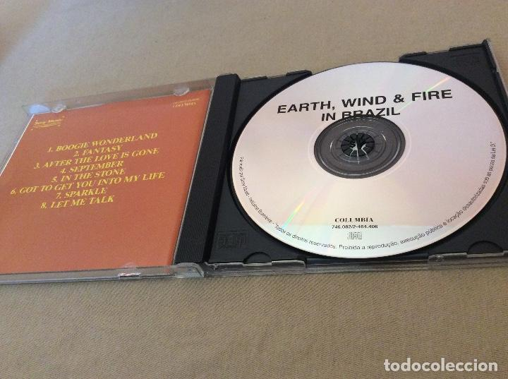 CDs de Música: Earth, Wind & Fire ‎– Earth, Wind & Fire In Brazil. - Foto 3 - 114691899