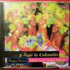 CDs de Música: Y LLEGO LA CUBANITIS...CUBA...PEDIDO MINIMO 5€. Lote 114738407