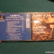 CDs de Música: JOE MCPHEE TRIO, ANDRÉ JAUME & RAYMOND BONI - IMPRESSIONS OF JIMMY GIUFFRE - CD 13 TEMAS - 1992. Lote 114784887