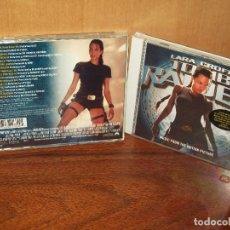 CDs de Música: TOMB RAIDER - LARA CROFT - ARTISTAS VARIOS - CD BANDA SONORA ORIGINAL BSO. Lote 218207305