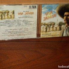 CDs de Música: VIVA ZAPATA - MUSICA DE JERRY GOLDSMITH - CD BANDA SONORA ORIGINAL BSO . Lote 114827995