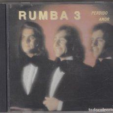 CDs de Música: RUMBA TRES CD PERDIDO AMOR 1998 EDITADO EN PORTUGAL. Lote 114829835