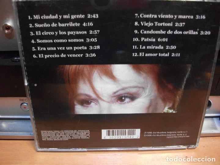 CDs de Música: ELADIA BLAZQUEZ LA MIRADA 1998 ARGENTINA CD ALBUM - Foto 2 - 114832047