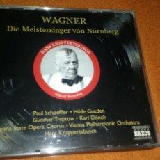 CDs de Música: WAGNER DIE MEISTERSINGER VON NURNBERG 3 CDS + LIBRO VER FOTOS. Lote 114836862
