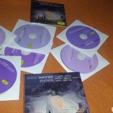 CDs de Música: GREAT WAGNER SINGERS 6 CDS + LIBRO VER FOTOS. Lote 114837836
