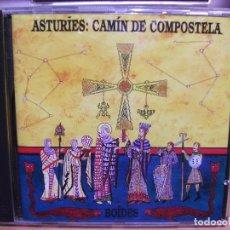CDs de Música: ASTURIES CAMIN DE COMPOSTELA / BOIDES / FONOASTUR CD ALBUM NUEVO¡¡. Lote 114837919