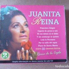CDs de Música: JUANITA REINA. 2 CD. Lote 114868379