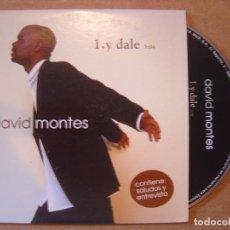 CDs de Música: DAVID MONTES - Y DALE - CD PROMOCIONAL - 2002 BAT. Lote 114912575