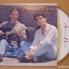 CDs de Música: ALFREDO Y BRUNO - ENAMORAMORAME - CD SINGLE PROMOCIONAL - BAT. Lote 114913611