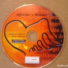 CDs de Música: ALFREDO Y BRUNO - CORAZON DE ANGEL - CD SINGLE PROMOCIONAL - 1999 BAT. Lote 114913927