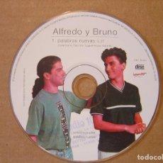CDs de Música: ALFREDO Y BRUNO - PALABRAS NUEVAS - CD SINGLE PROMOCIONAL - BAT. Lote 114914503