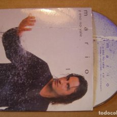 CDs de Música: MARIO - Y ESO NO VALE - CD SINGLE PROMOCIONAL - TEMPO. Lote 114914891