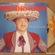 CDs de Música: ORQUESTA MONDRAGON - NO ME ACUERDO - CD SINGLE PROMOCIONAL - 2000 BAT. Lote 114916063
