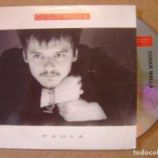 CDs de Música: COQUE MALLA - PAULA - CD SINGLE PROMOCIONAL - 1999 COLUMBIA. Lote 114916527