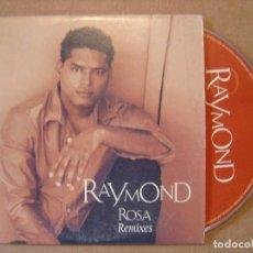 CDs de Música: RAYMOND - ROSA REMIXES - 3 TRACKS - CD 2000 BAT. Lote 114917819