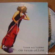 CDs de Música: LUAR NA LUBRE - OS TEUS OLLOS - CD SINGLE PROMOCIONAL - 1998 WEA. Lote 114918351