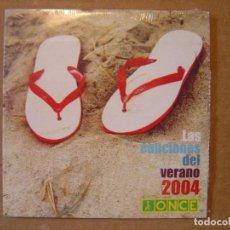CDs de Música: LAS CANCIONES DEL VERANO 2004 - CD PROMOCIONAL 12 TRACKS. Lote 114920827