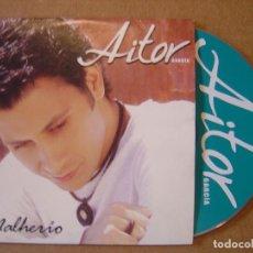 CDs de Música: AITOR GARCIA - MALHERIO - CD SINGLE PROMOCIONAL - 2003 CLIP. Lote 114921039