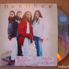 CDs de Música: CHEROKEE - BOCAITOS + FRAGMENTOS - CD SINGLE PROMOCIONAL - 1996 SONY. Lote 114922687