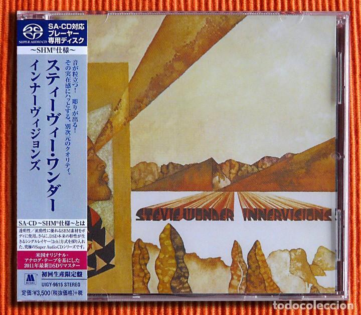 STEVIE WONDER INNERVISIONS EDICIÓN ESTÉREO DE 1 CAPA SHM SACD JAPÓN PRECINTADO (Música - CD's Jazz, Blues, Soul y Gospel)