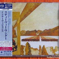 CDs de Música: STEVIE WONDER INNERVISIONS EDICIÓN ESTÉREO DE 1 CAPA SHM SACD JAPÓN PRECINTADO. Lote 114924899