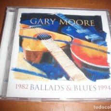 CDs de Música: GARY MOORE. BALLADS & BLUES. 1982 / 1994. COMO NUEVO.. Lote 114935335