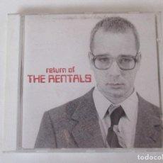 CDs de Música: THE RENTALS RETURN OF THE RENTALS MAVERICK 1995 INDIE MINI POSTER. Lote 114944959