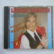CDs de Musique: LETICIA SABATER - LETI FUNK - CD 1994 . Lote 114953007