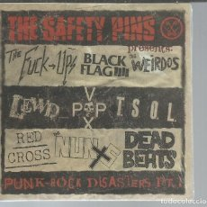 CDs de Música: SAFETY PINS - PUNK ROCK DISASTERS PT. 1 - CD MUNSTER 2000 NUEVO. Lote 114956715