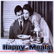 CDs de Música: HAPPY MEALS - TOASTER. Lote 114968039