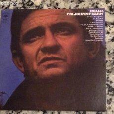 CDs de Música: JOHNNY CASH. HELLO, I,M JOHNNY CASH. FORNATO SOBRE DE CARTÓN . Lote 114975875