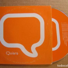 CDs de Música: QUIERO - DO YOU LOVE ME - CD 5 TRACKS - PROMOCIONAL - 2000 LEVEL RECORDS. Lote 114981083