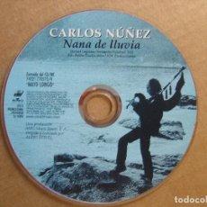 CDs de Música: CARLOS NUÑEZ - NANA DE LLUVIA - CD SINGLE PROMOCIONAL - 2000 BMG. Lote 114981351