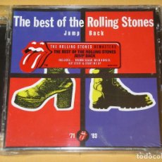 CDs de Música: THE ROLLING STONES, BEST OF JUMP BACK, CD PRECINTADO, ERCOM. Lote 115017043