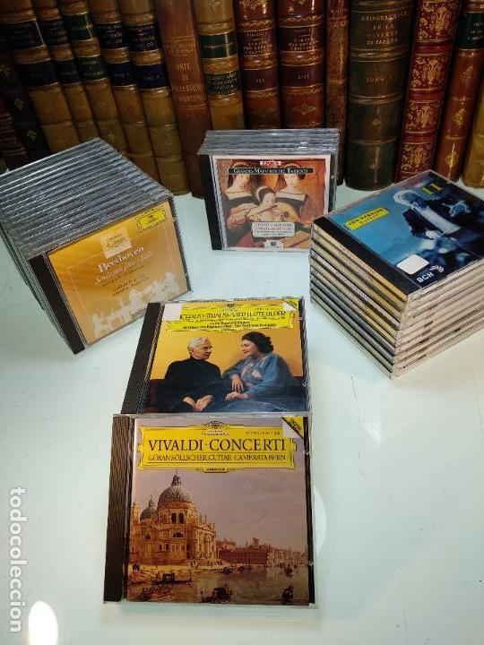 LOTE VARIADO DE 37 DISCOS EN CD DE MÚSICA CLÁSICA - DIFER. COLECCIONES - FOTOS DE TODOS LOS CD`S - (Música - CD's Clásica, Ópera, Zarzuela y Marchas)