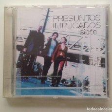 CDs de Música: PRESUNTOS IMPLICADOS - SIETE. Lote 115069983