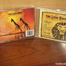 CDs de Música: THE LION KING - MUSICA DE ELTON JOHN & TIM RICE - CD BANDA SONORA ORIGINAL BSO. Lote 115092035