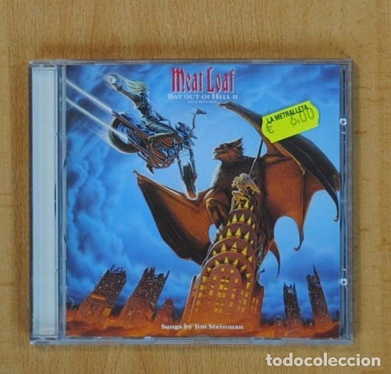 MEAT LOAF - BAT OUT OF HELL II - CD (Música - CD's Heavy Metal)