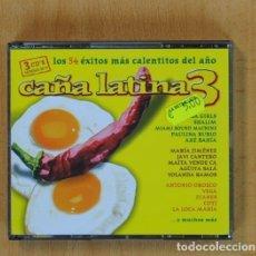 CDs de Música: CA�A LATINA 3 - VARIOS - 3 CD. Lote 115102871