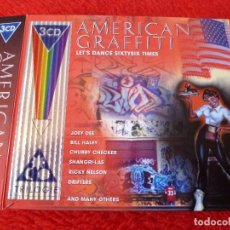 CDs de Música: (XM)-CD- AMERICAN GRAFFITI(TRILOGIE)-3 CD.BANDA SONORA ORIGINAL.. Lote 115113919