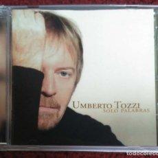 CDs de Música: UMBERTO TOZZI (SOLO PALABRAS) CD 2005. Lote 115132415