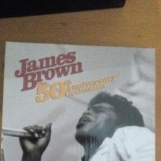 CDs de Música: JAMES BROWN THE 50 ANIVERSARY COLLECTION BOX 2CDS+DVD ¡¡PRECINTO¡¡. Lote 115137819
