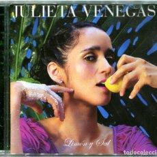 CDs de Música: JULIETA VENEGAS - LIMÓN Y SAL - CD SPAIN 2006 - SONY BMG 82876859052. Lote 115145895